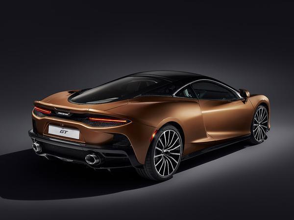 The McLaren GT is McLaren's new dedicated grand tourer