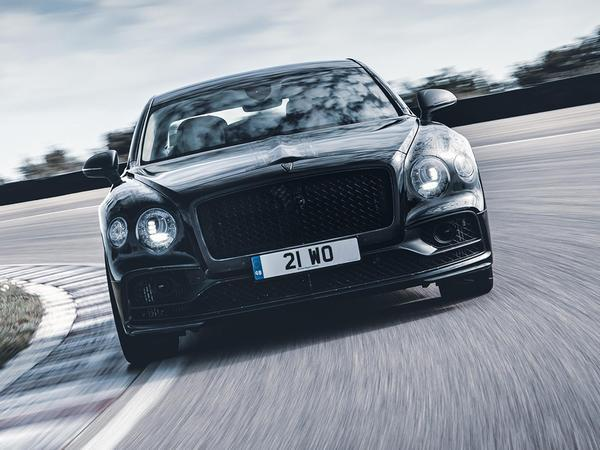 All-New Bentley Flying Spur Looks Majestic