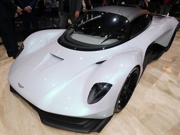 Aston Martin's Baby Valkyrie Hypercar Now Has A Name