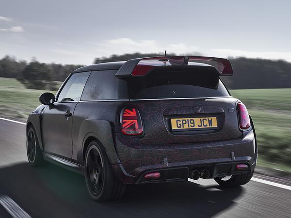 MINI John Cooper Works GP prototype unveiled