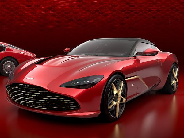 R106m Aston GT Zagato has some interesting design features
