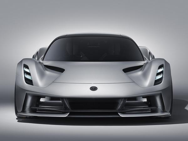 Lotus announces Evija EV hypercar