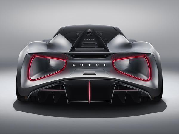 British manufacturer Lotus unveils Evija all-electric supercar