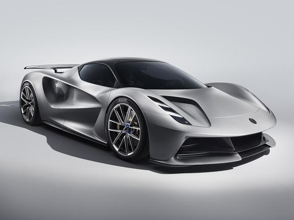 Lotus Evija revealed; world's most powerful production auto