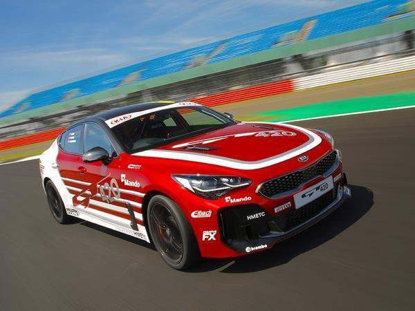 Kia Stinger track car! | PistonHeads
