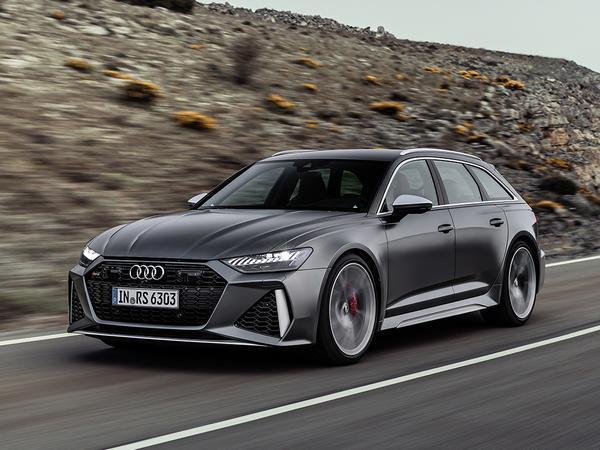 Audi unveils the next-gen RS 6 Avant