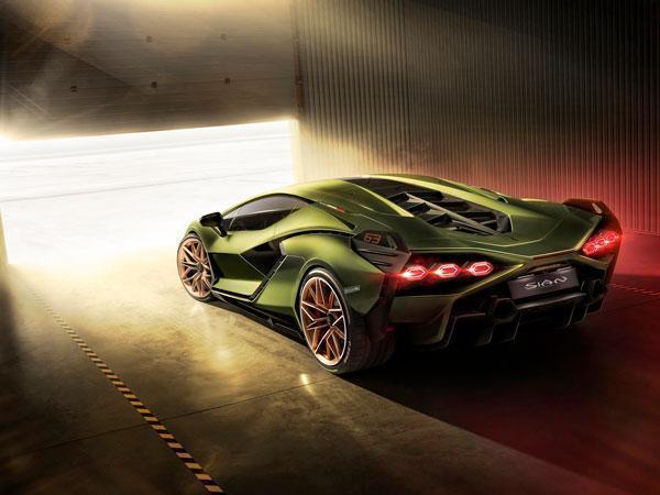 Lamborghini Sian Introduces 819hp Hybrid V12