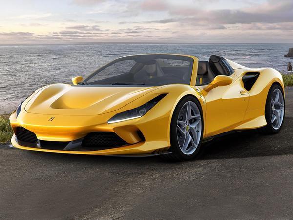 Ferrari F8 Spider Revealed; Offers More Power And Zero Turbo Lag