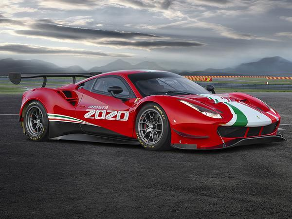 Ferrari 488 GT3 Evo arrives with new aero, same great Italian looks
