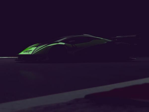 Lamborghini previews track-only hypercar in new video