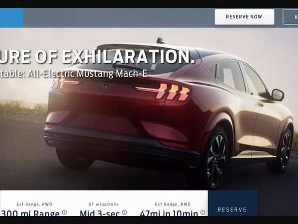 Ford Mustang Mach E Leaks Online Pistonheads