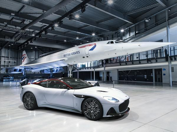 Aston Martin DBS Superleggera Concorde Edition celebrates airspeed