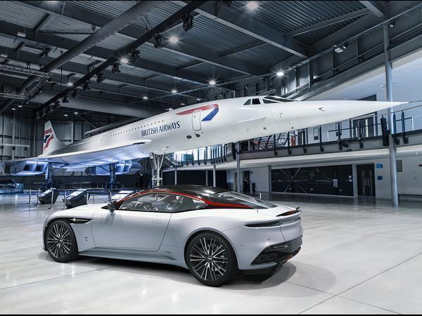 Aston Martin creates ultra-exclusive DBS Superleggera Concorde Edition