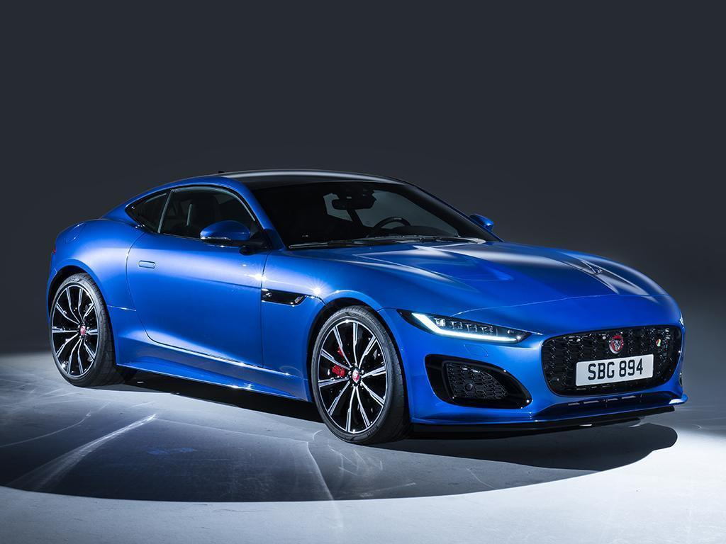 Jaguar F-Type facelift unveiled
