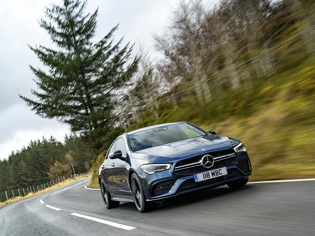 Mercedes-Benz AMG CLA35 Coupe   Driven   PistonHeads